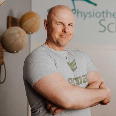 Dominik Schulz von Sportphysiotherapie