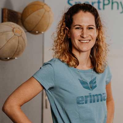 Katja Hobler von Sportphysiotherapie